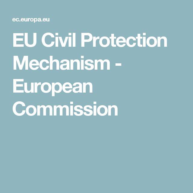 EU Civil Protection Mechanism - European Commission