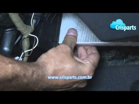 Troca do Filtro de Ar Condicionado - FIAT Modelos Idea, Palio, Siena, Strada - YouTube