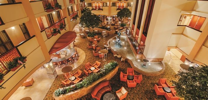 Embassy Suites San Marcos Hotel Spa Conference Center Tx Atrium Embassy Suites San Marco Hotel Spa