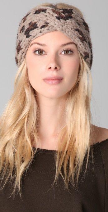 Eugenia Kim Lula Chunky Turban Headband thestylecure.com