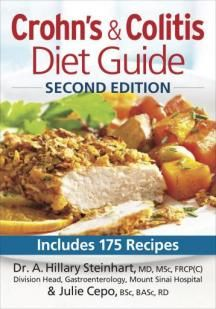 APRIL 2014 Diet is a high priority not only for people living with Crohn's disease or ulcerative colitis, but also for their families and f...