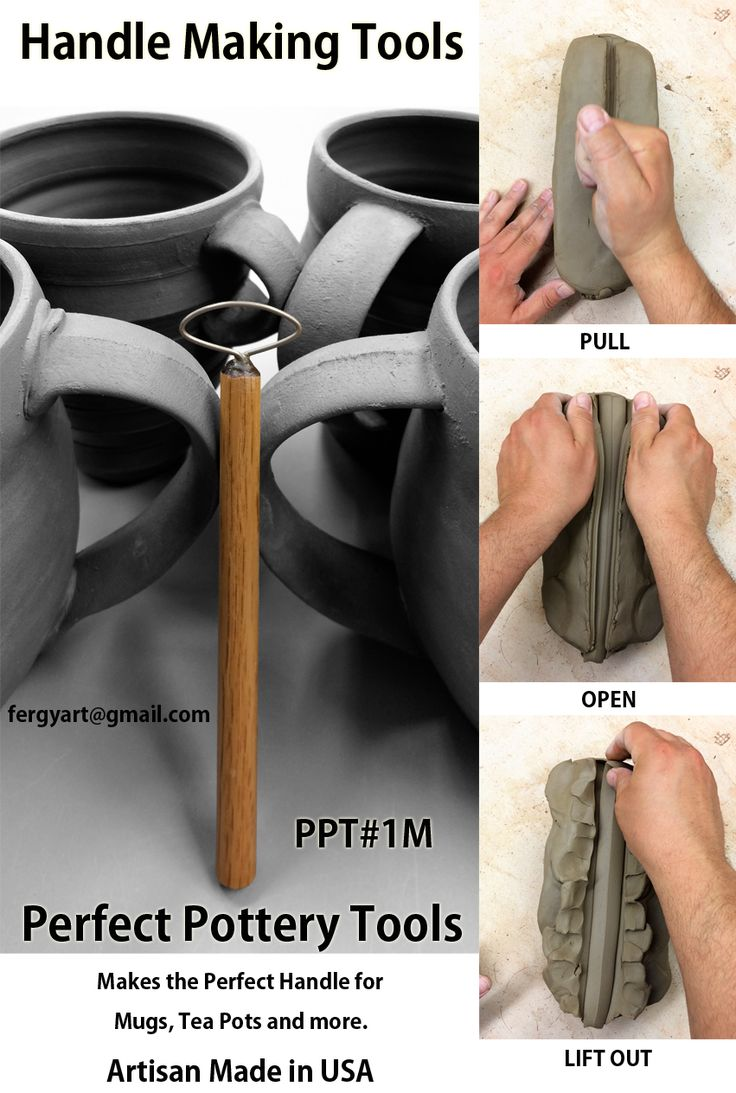 The Perfect Pottery Handle Tools Anthony Ferguson