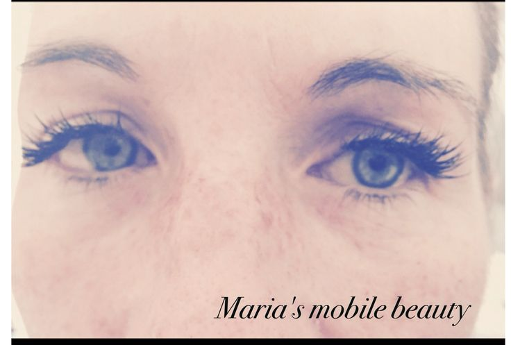 Individual eyelashes  https://www.facebook.com/pages/Marias-Mobile-Beauty/100295140060478