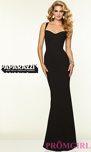 Mori Lee 97099 Sleek Backless Prom Gown  at PromGirl.com