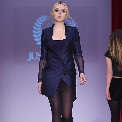 Donald Trumps Daughter Tiffany Walks in First New York Fashion Week Show