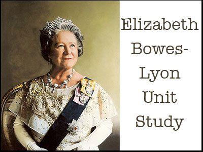 Born August 4, 1900:   Mother of the Elizabeth II, Queen of England:  Elizabeth-Bowes-Lyon-Unit-Study