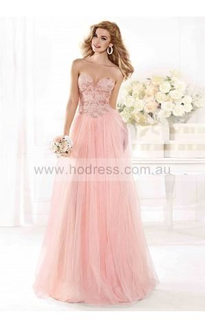 A-line Sweetheart Empire Sleeveless Floor-length Formal Dresses zlh035--Hodress