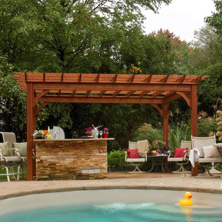 Pool Gazebo Ideas back yard bar ideas pic Unique Pool Pergolas To Take Rest In Spare Time Gazebo Ideasbackyard