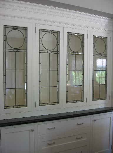 Stained glass kitchen cabinets for Stained glass kitchen windows