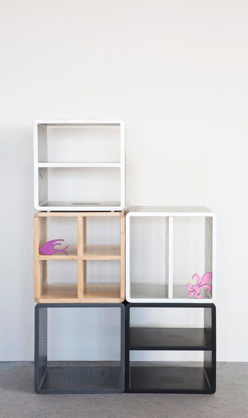 Like the variety Clever Storage Furniture from Think Fabricate Photo