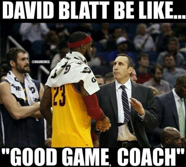 David Blatt to LeBron James. #Cavs - http://nbafunnymeme.com/nba-memes/david-blatt-to-lebron-james-cavs