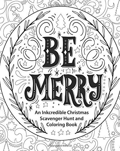 Be Merry: An Inkcredible Christmas Scavenger Hunt and