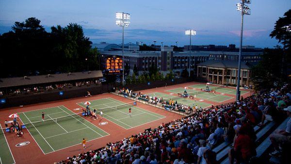 Estadio de #tenis de Georgia
