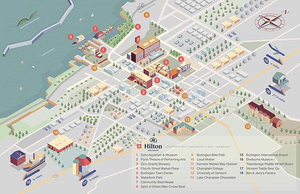 https://www.behance.net/gallery/22762859/Burlington-Hilton-Map-