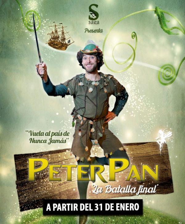 Llega al Teatro Flumen Peter Pan y la batalla final - http://www.valenciablog.com/llega-al-teatro-flumen-peter-pan-y-la-batalla-final/