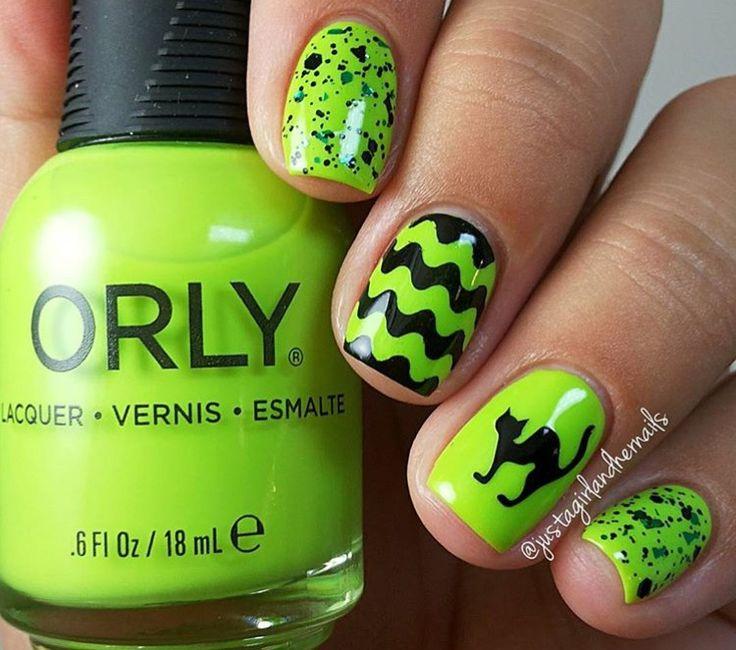 Mejores 200 imágenes de Halloween Nails en Pinterest | Arte de uñas ...