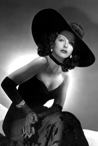 Hedy Lamarr - not only was she gorgeous, she was also an engineer and inventor. My kind of lady