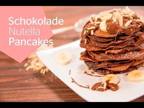 Kochvideo: Nutella-Pancakes mit Kakao-Bananen-Topping | Stylight