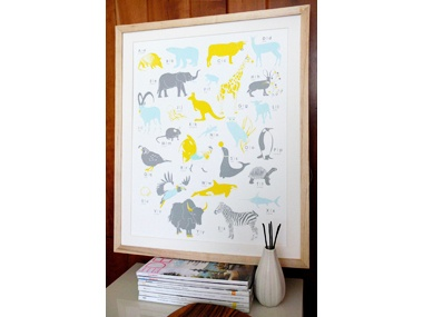 animal printAz Posters, Animal Alphabet, A Z Posters, Kids Room, Colors Palettes, Alphabet Posters, Animal Prints, Animal Az, Alphabet Art