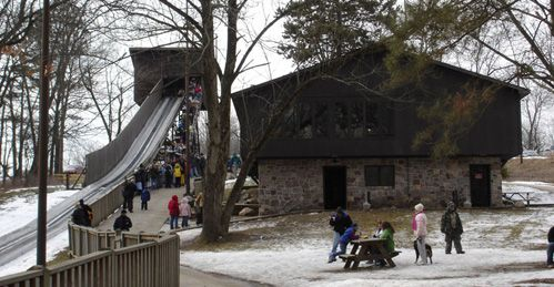 DNR: Toboggan Run at Pokagon State Park