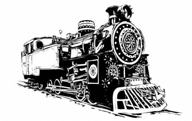Pin By Marcus Vinicius On Carros Vetor Vector Free Locomotive Train Illustration