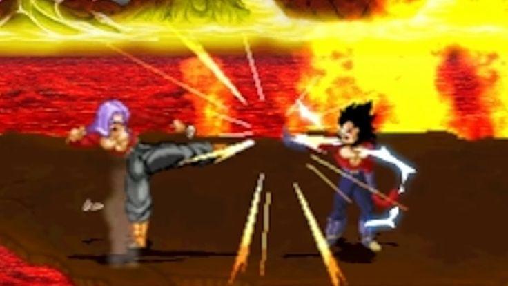 Super Saiyan 4 Trunks vs Vegeta Super Saiyan 4 (Father vs Son) Sprite Fight