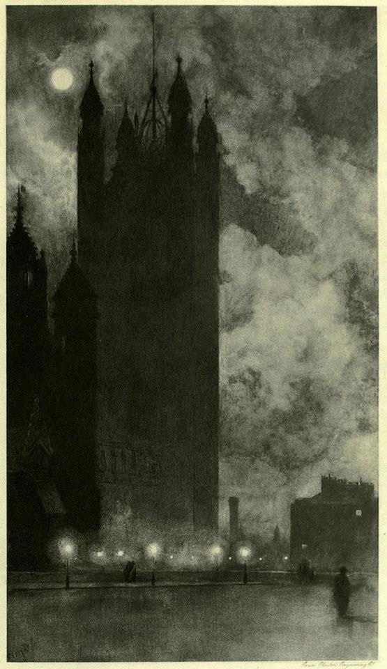 Victoria Tower in Westminster, London, 1898  William Hyde