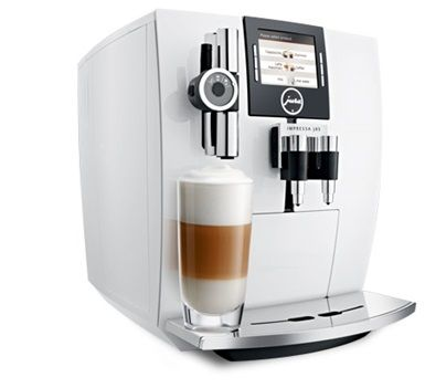 The IMPRESSA J85 is modern and cool. In Piano White and with an all-round design which has won numerous renowned international awards, it attracts admiring looks.  As a real automatic one-touch coffee machine, it goes without saying that the IMPRESSA J85 produces cappuccino and latte macchiato at the touch of a button without the cup having to be moved.
