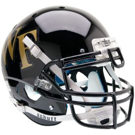 Old Ghost Collectibles - Wake Forest Demon Deacons NCAA Schutt XP Full Size Replica Football Helmet, $81.99 (http://www.oldghostcollectibles.com/wake-forest-demon-deacons-schutt-full-size-replica-xp-football-helmet/?page_context=category