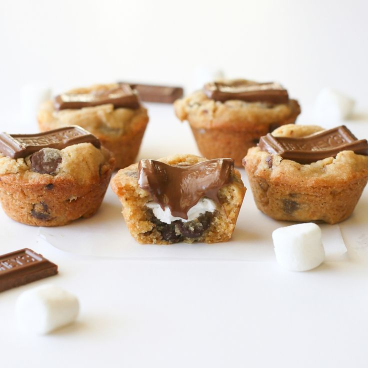 S'mores Cookie Cups   The Girl Who Ate Everything Cookbook