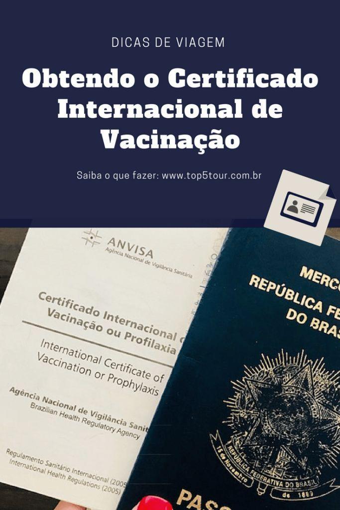 Saiba o que fazer para tirar o Certificado Internacional de Vacinação e viajar sem preocupação