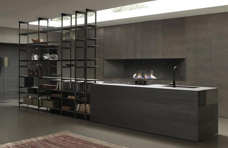 17 migliori idee su cucine in rovere su pinterest armadi. Black Bedroom Furniture Sets. Home Design Ideas
