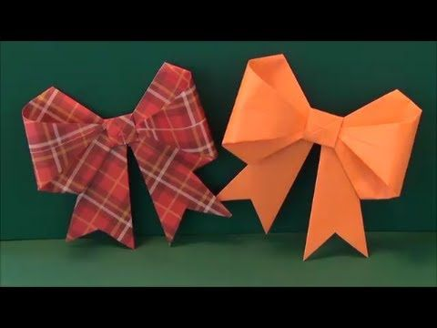 "「リボン」折り紙""Ribbon"" origami - YouTube"