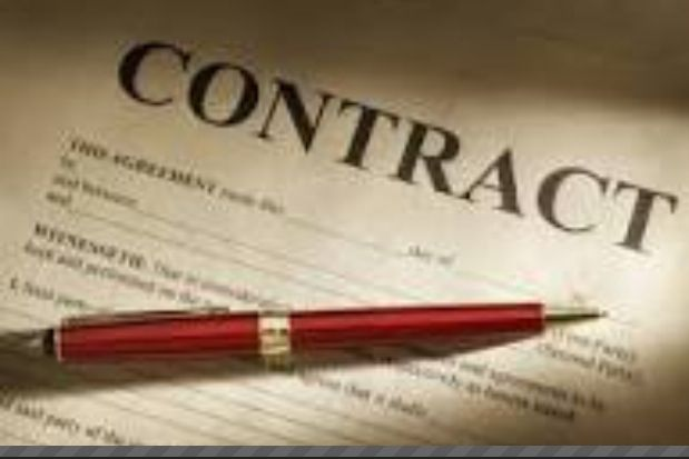A contract is a written agreement between two or more people that - writing contract between two individuals