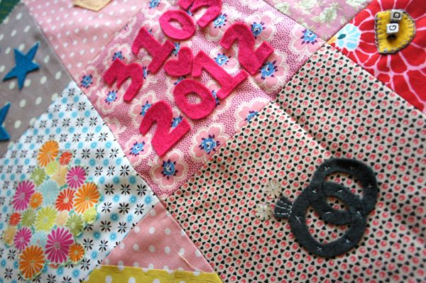 We love our quilt-making parties