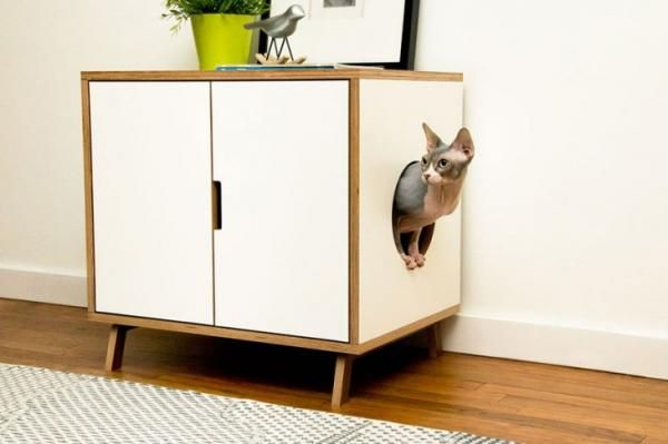 Muebles para gatos  Dyi  Muebles para gato Arenero