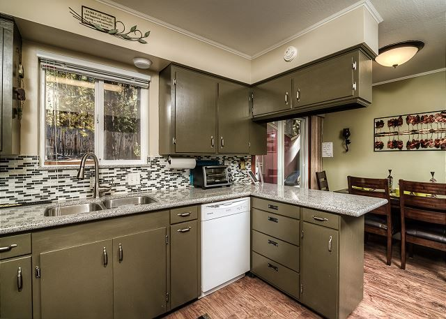 South Lake Tahoe Vacation Rentals - California Accommodations - This cute, newly remodeled 2BR alpine cottage has a hot tub and is ideally located on a quiet lane, minutes from skiing, shopping, restaurants, hiking, and watersports on Lake Tahoe.