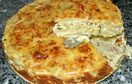 Potatiskaka med spenat och fetaost