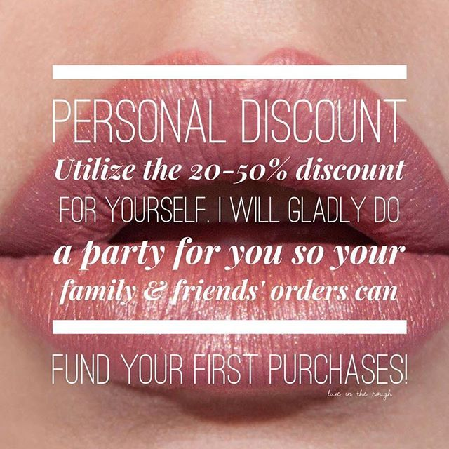 i joined lipsense for the discount who can say no to