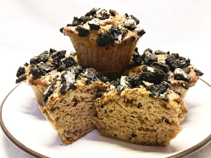 Proteínové banánové muffiny pre vegánov