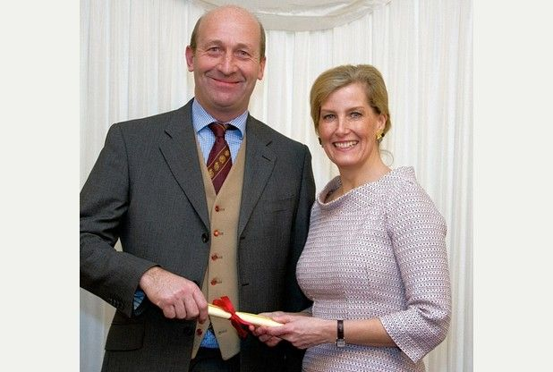 March 02, 2016:  In a presentation at the House of Lords, Tractor Ted creator David Horler was honoured with an Associateship of Royal Agricultural Societies in recognition of how the little green tractor has educated many hundreds of thousands of young children over the years on British farming and countryside matters. The Countess of Wessex admitted that they have all the Tractor Ted DVDs at home as he is a family favourite.