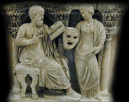 Gladiatrix : Mascara Romana de teatro