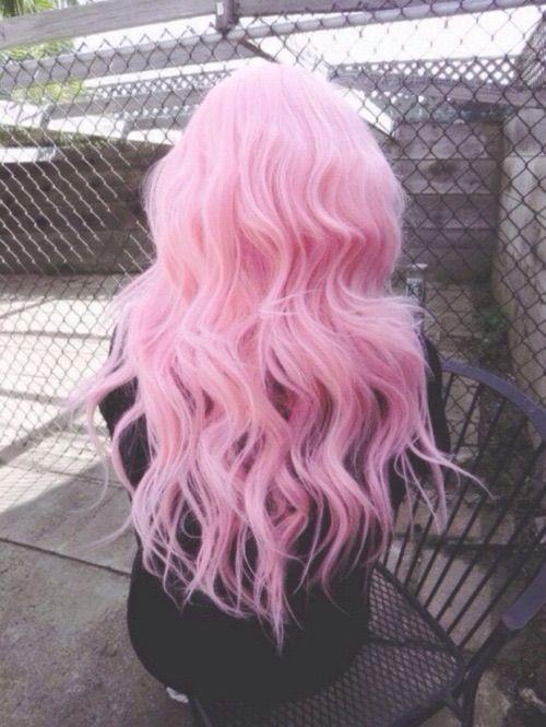 Красивые девушки с розовыми волосами без лица