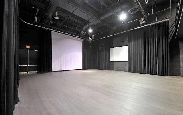 Fabulous porter sanford black box theatre that seats up to for Porte arts and dance studio