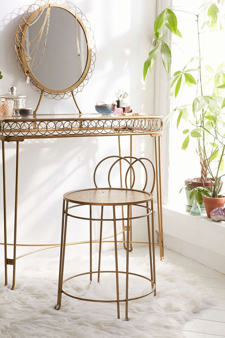 From Urban Outfitters · Plum U0026 Bow Wire Loop Chair