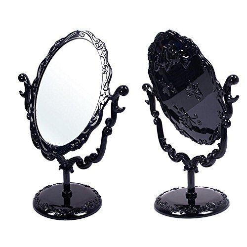 Black Butterfly Desktop Mirror Rotatable Gothic Small Size Rose Makeup Stand KeyZone http://www.amazon.com/dp/B00MMY2AJ6/ref=cm_sw_r_pi_dp_Vz8Dvb157DCNS