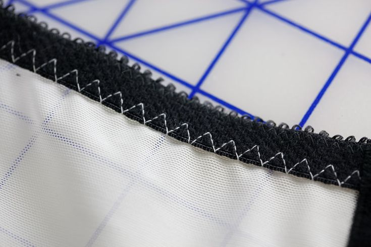 Triple zig-zag stitch is a very good machine feature for bra and lingerie sewing | Cloth Habit