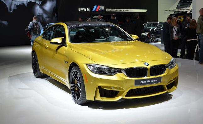 Gorgeous 2015 BMW M4. Detroit Auto Show.