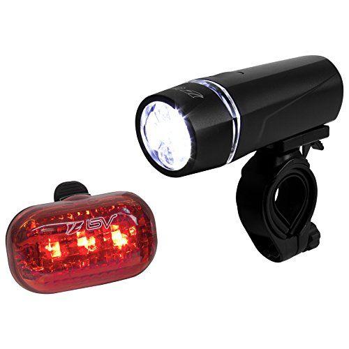 BV Bicycle Light Set Super Bright 5 LED Headlight, 3 LED ...