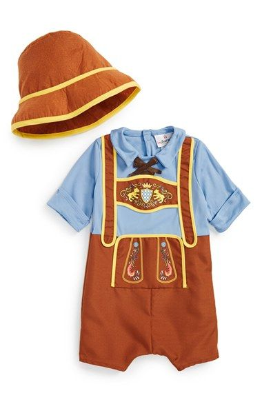 InCharacter Costumes 'Little Lederhosen' Costume (Baby Boys) available at #Nordstrom